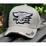Gorra Baseball Navy Seals Team TAN