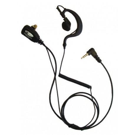 Micro Auricular con orejera compatible motorola talkabout