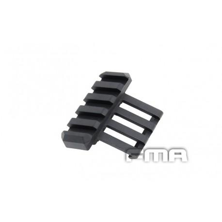 Rail lateral Negro FMA