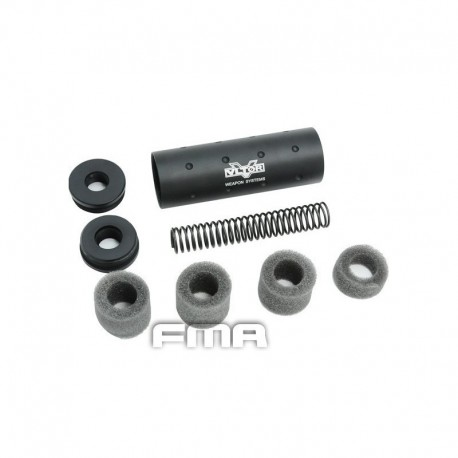 Silenciador FMA VLTOR +14mm negro