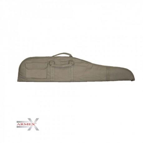 Funda Rifle escoeta Armex 121cm verde