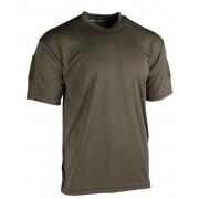 Camiseta manga corta verde Quick dry
