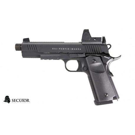 Pistola Rudis Magna XII Negra Secutor CO2