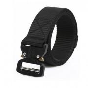 Cinturon C-Buckle Color Negro 125 cm