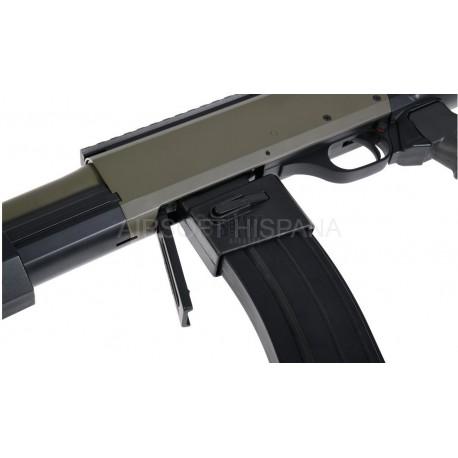 Adaptador escopeta para cargador M4 Saigo