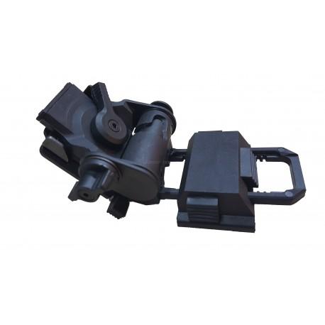Montura Visor nocturno para Casco Negro Polimero
