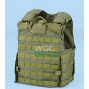 Chaleco Force Recon Verde, talla L
