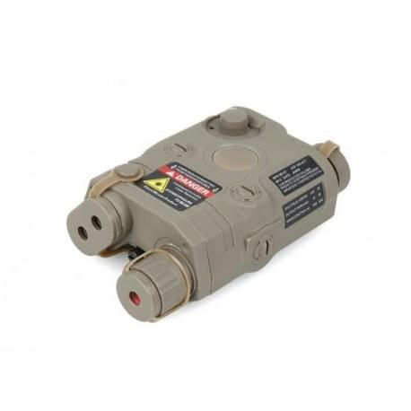 FMA AN/PEQ-15 Laser  Rojo con Linterna TAN