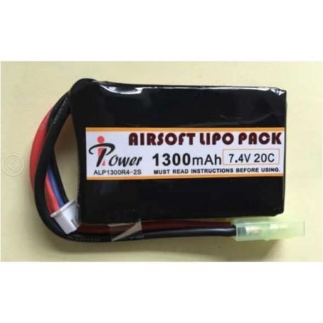 Bateria 7,4v 1300mAh IPower 20C mini