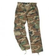 Pantalon US BDU woodland mujer
